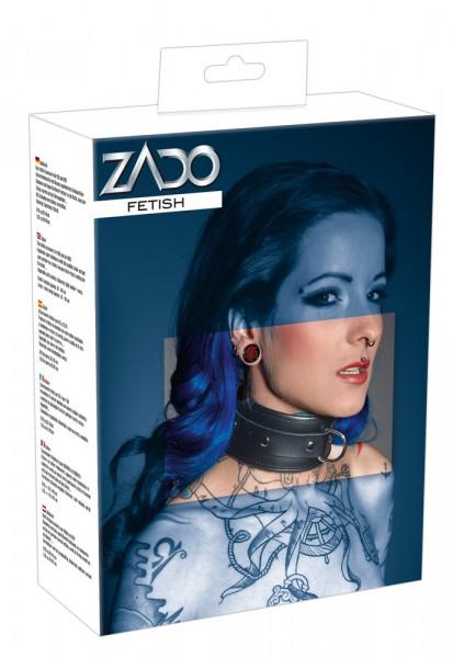 ZADO Leder-Halsfessel Gr. L/XL