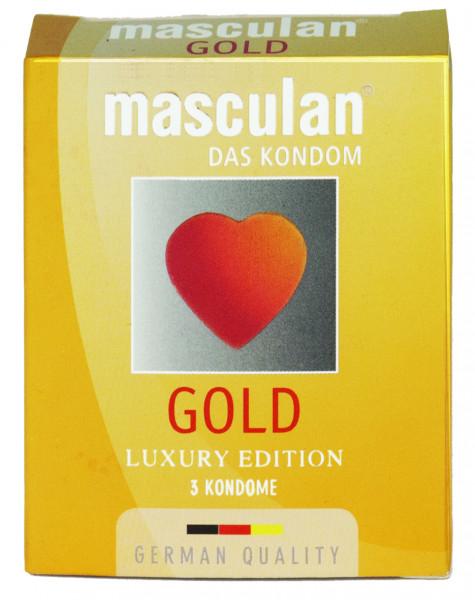 MASCULAN Gold 3 St.