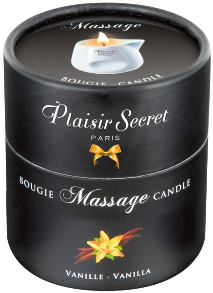 Plaisir Secret Massage Candle Vanille