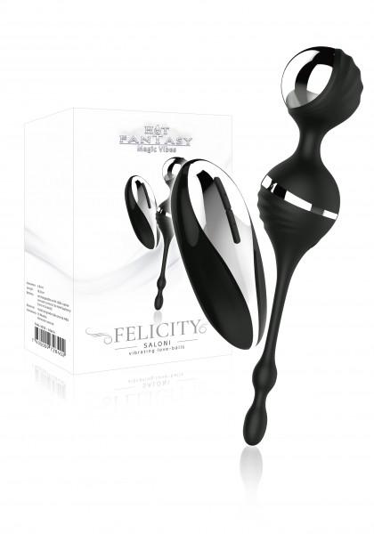 HOT FANTASY Felicity Saloni Vibrator Balls black