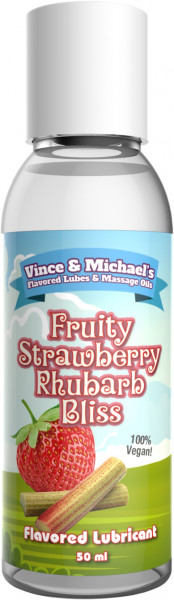VINCE & MICHAEL's Fruity Strawberry Rhubarb Bliss 50ml