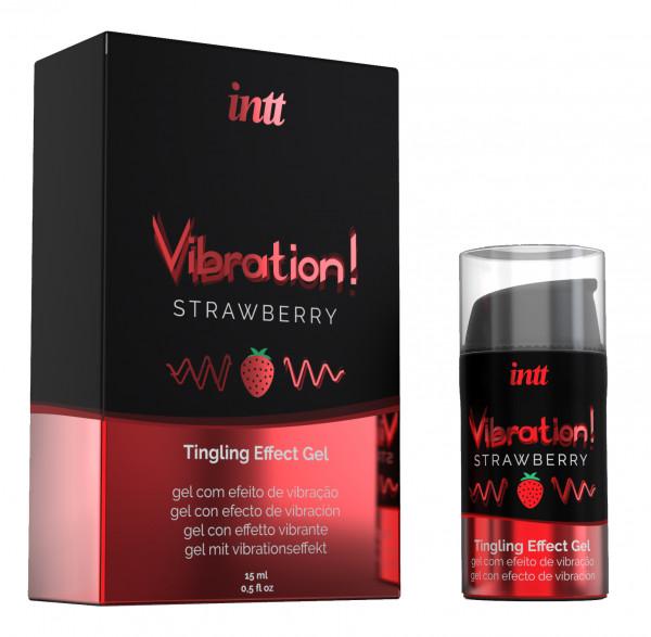 intt Liquid Vibration Strawberry 15ml
