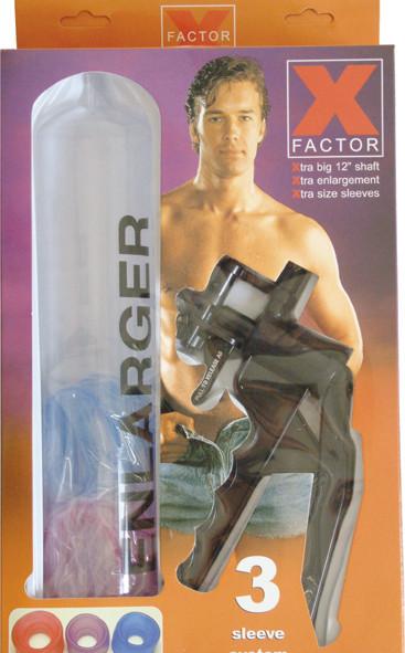 Seven Creations X-Factor Potenzpumpe m. Scherengriff