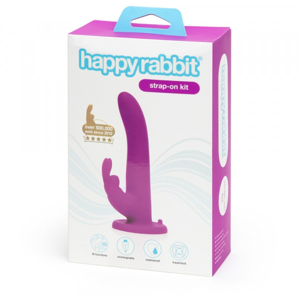 happyrabbit Vibrating Strap-On