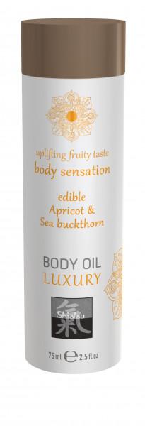SHIATSU Edible body oil - Apricot & Sea Buckthorn 75ml
