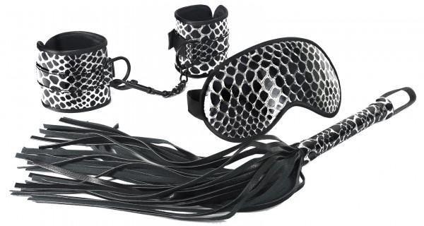 SPARTACUS Bondage Kit black-silver