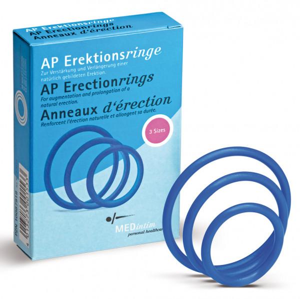 MEDintim Erektionsringe (3 Größen)