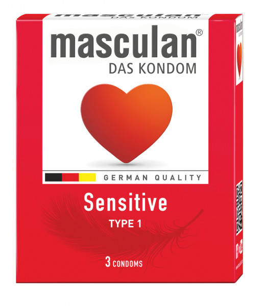 MASCULAN Sensitive 3 St.