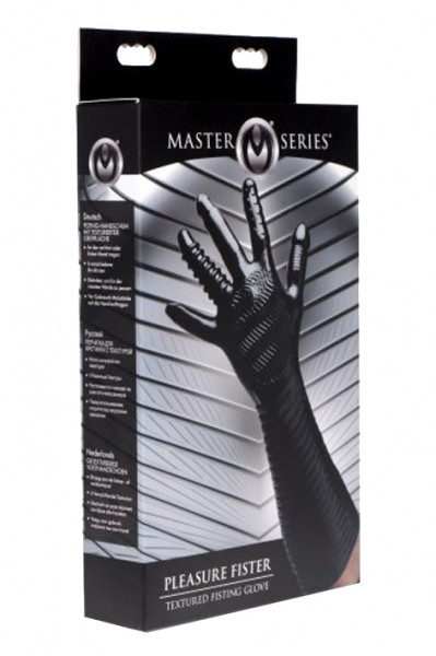 MASTER SERIES Pleasure Fister Textured Fisting Glove
