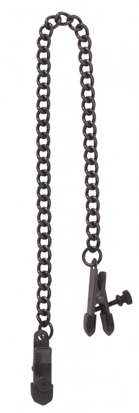 SPARTACUS Nipple Clamps Black Line