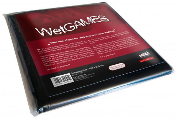 JOYDIVISION SexMAX Wetgames Laken 180x220cm schwarz