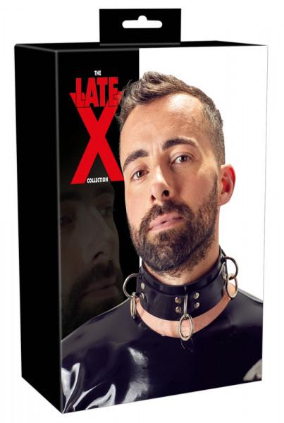Late X Latex-Halsfessel