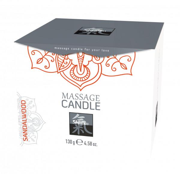 SHIATSU Massage Candle - Sandalwood 130ml