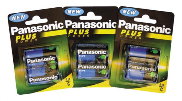 Batterie PANASONIC Baby R14 (2er Blist. VE) C