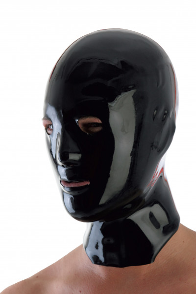 FANTASY Herrenmaske schwarz Gr. S-L