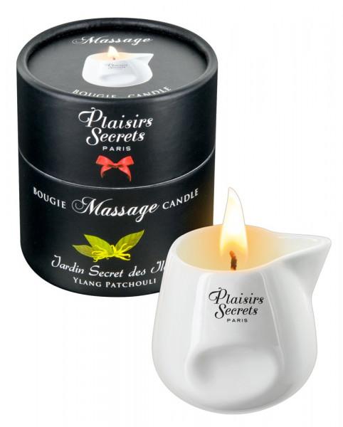 Plaisir Secret Massage Candle Ylang + Patchouli