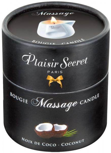 Plaisir Secret Massage Candle Kokos