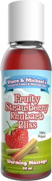 VINCE & MICHAEL's Warming Fruity Strawberry Rhubarb Bliss 50ml