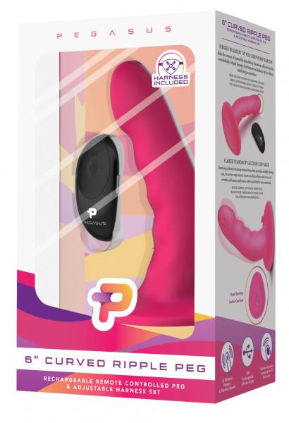 """PEGASUS 6"""" Curved Ripple Peg"""