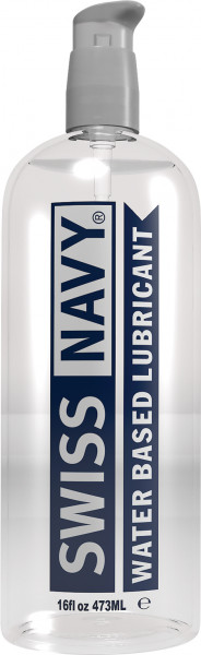 SWISS NAVY Water-Based Lubricant 16oz (472ml)