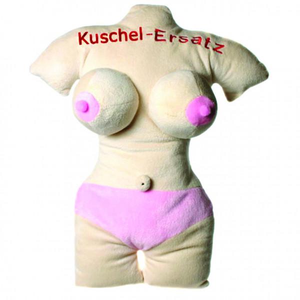 Kissen Frauentorso 'Kuschel-Ersatz' Plüsch 45cm