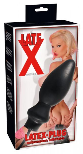 Inflatable Latex Plug