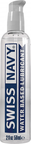 SWISS NAVY Water-Based Lubricant 2oz (59ml)