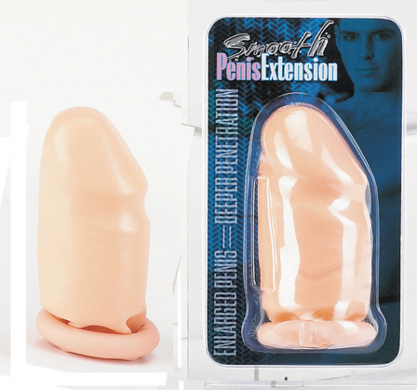 Seven Creations Smooth Latex Penis Extension (7cm)
