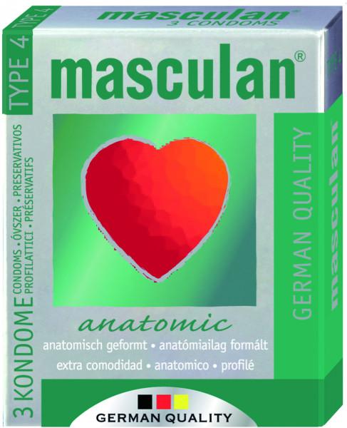 MASCULAN Anatomic 3 St.
