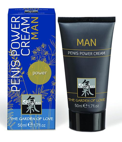 SHIATSU Man, Penis Power Cream 50ml