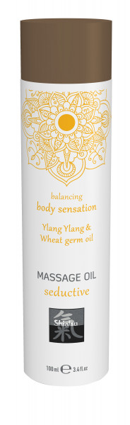 SHIATSU Massage oil seductive - Ylang Ylang & Wheat germ oil 100ml