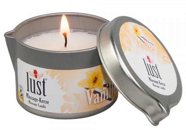 Lust Massagekerze Vanille