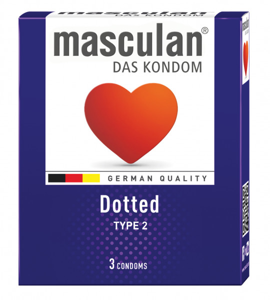 MASCULAN Dotted 3 St.