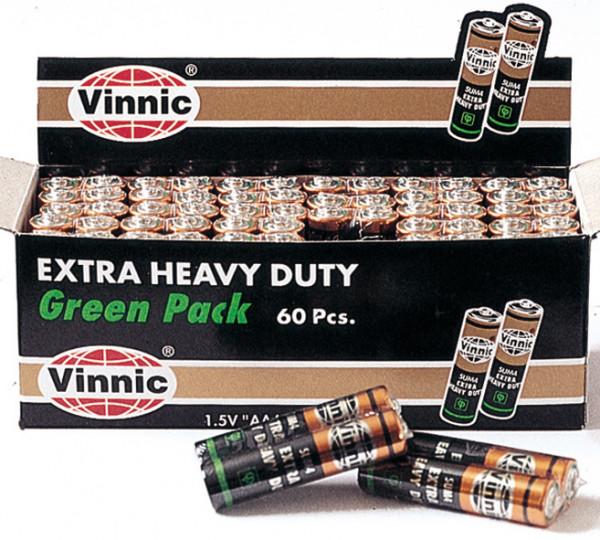 Batterie VINNIC Micro SUM 4 (60 Stück VE) AAA